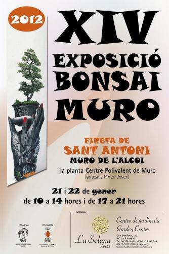 Bonsai XIV Exposició Bonsai Muro - Fireta de Sant Antoni - eventos