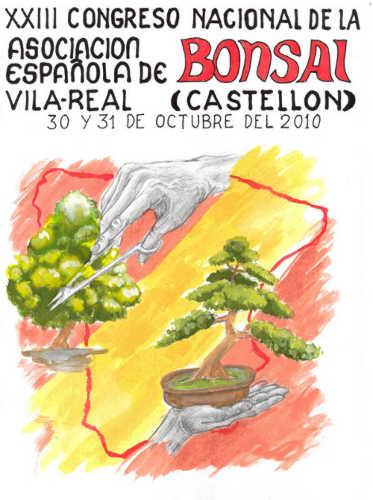 Cartel XXIII Congreso Nacional de Bonsai
