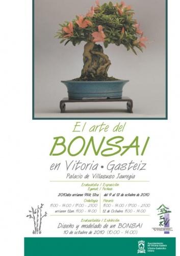 Cartel Exposicion de Otoño Vitoria Gasteiz