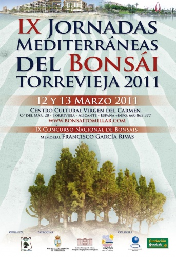 IX Jornadas Mediterraneas del Bonsai