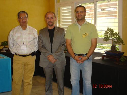 Bonsai Foto con el Presi de la AEB. - josegoderi