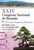 Cartel XXIV Congreso Nacional de Bonsais