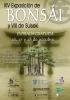 Cartel XIV Exposición de Bonsái y VIII de Suiseki