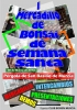 Cartel I Mercadillo de Bonsai de Semana Santa - Club bonsai Murcia