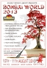 Cartel Bonsai World 2013