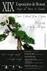 Cartel XIX Exposicion de bonsai