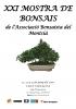 Cartel XXI Mostra de Bonsais - Associacio Bonsaista del Montsia
