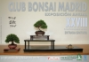 Cartel XXVIII Exposición Anual Club Bonsai Madrid